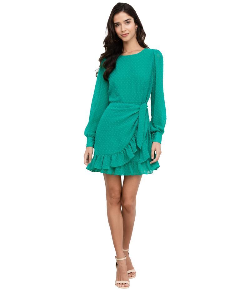 ユミキム レディース ワンピース トップス Daphne Dress Jewel Emerald Swiss Dot