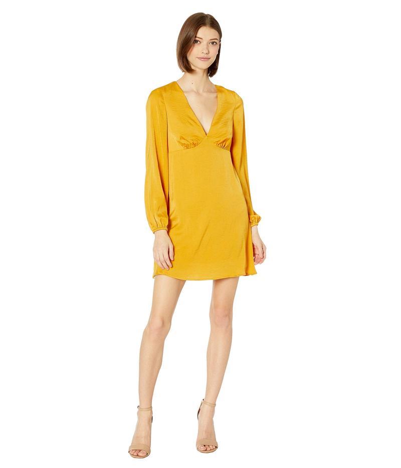 BCBジェネレーション レディース ワンピース トップス V-Neck Dress ULL6255005 Sunflower