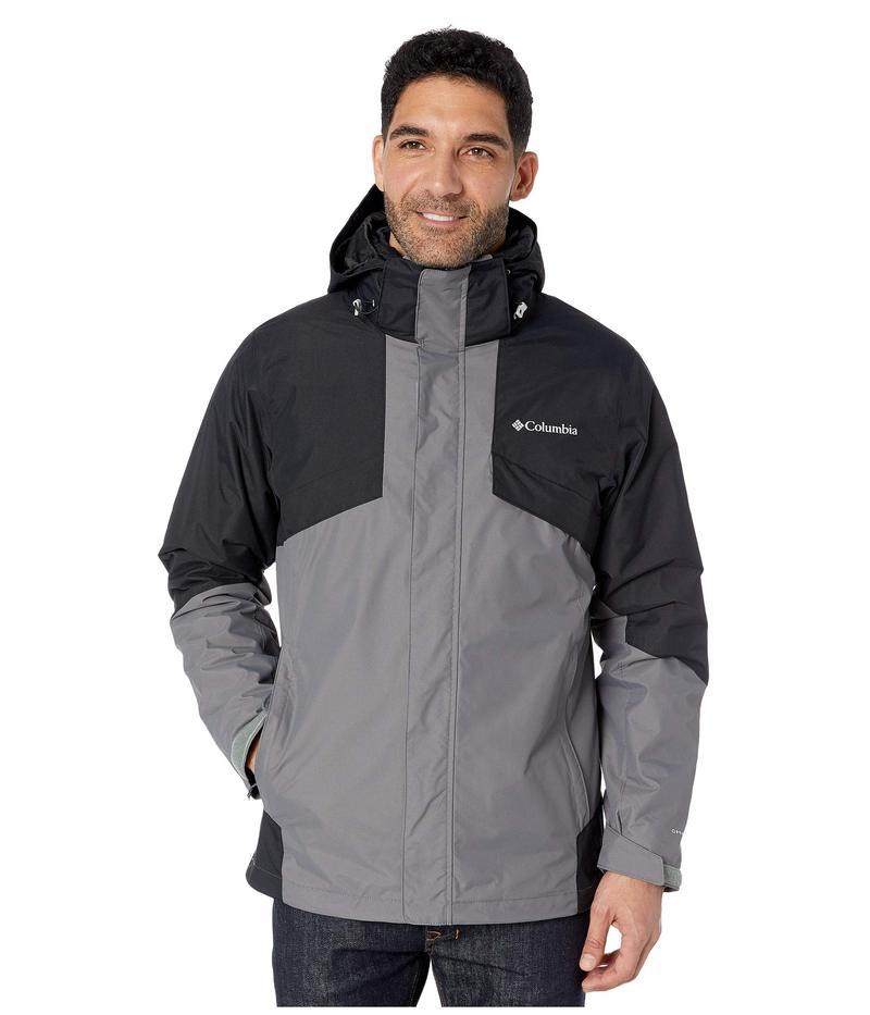 II Grey Interchange アウター Plaid Fleece Grey/Black/Nuclear/Black/City City Jacket Bugaboo¢ コート コロンビア メンズ