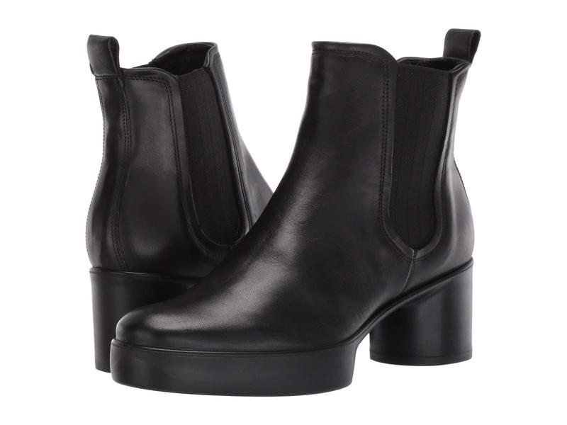 エコー レディース ブーツ・レインブーツ シューズ Shape Sculpted Motion 35 Chelsea Ankle Boot Black