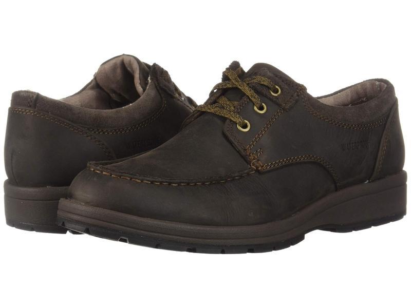 ハッシュパピー メンズ オックスフォード シューズ Beauceron MT ICE+ Dark Brown Leather