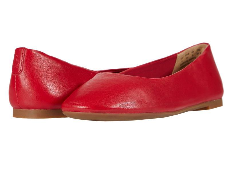 ハッシュパピー レディース サンダル シューズ Kendal Ballet PF Fire Red Leather