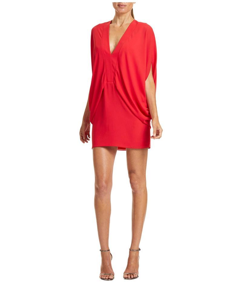 ホルストンヘリテイジ レディース ワンピース トップス Drapey Kimono Dress Summer Red