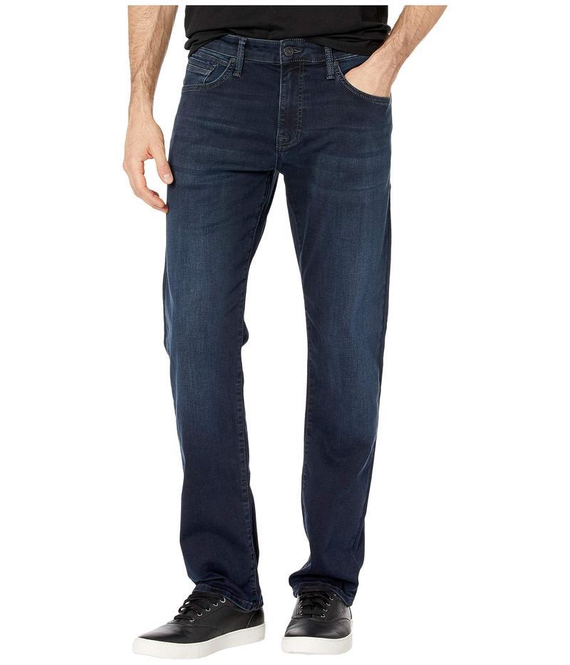 マーヴィ ジーンズ メンズ デニムパンツ ボトムス Zach Mid-Rise Straight in Ink Brushed Cashmere Ink Brushed Cashmere