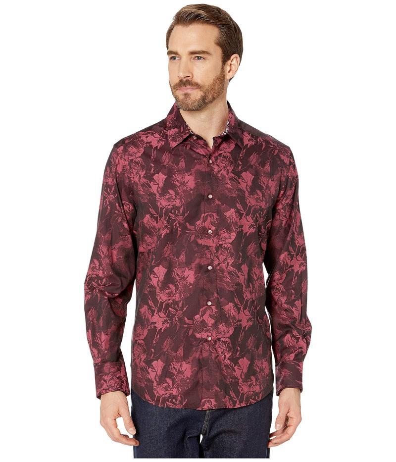 ロバートグラハム メンズ シャツ トップス The Rose Classic Fit Sport Shirt Red