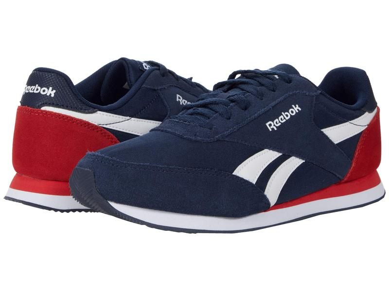 リーボック メンズ スニーカー シューズ Royal Classic Jogger 2 Collegiate Navy/White/Primal Red