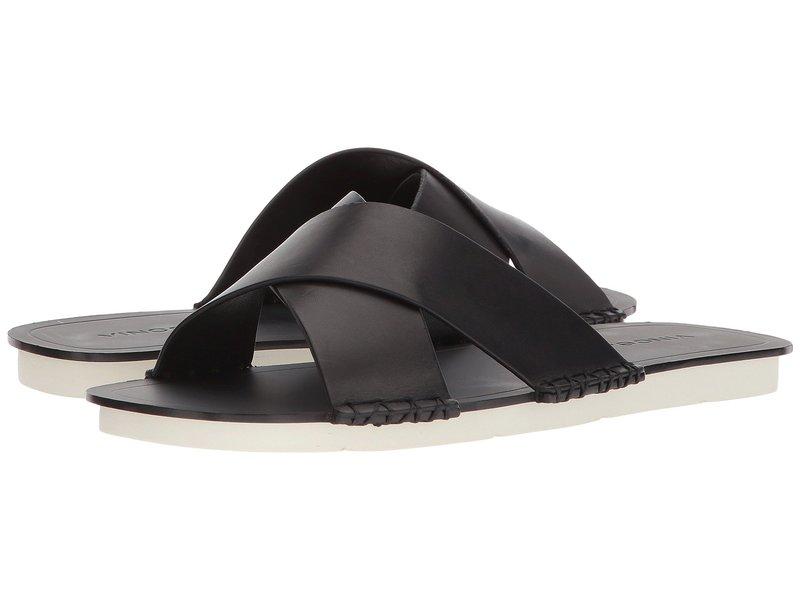ヴィンス レディース サンダル シューズ Nico Black Vacchetta Leather