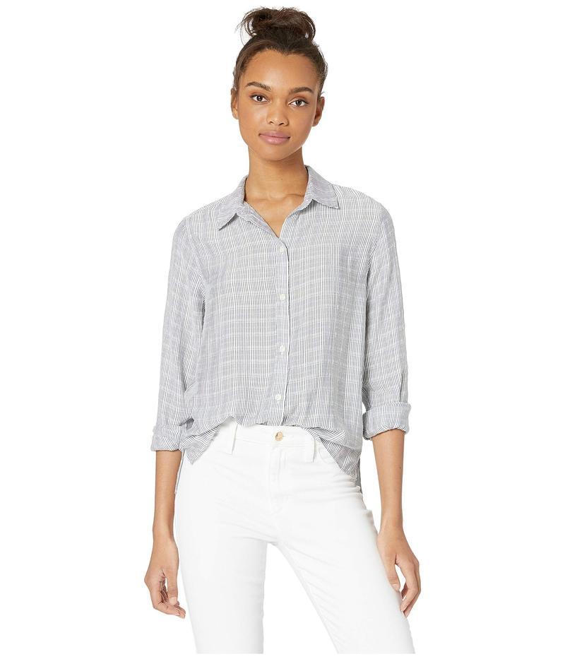カレント エリオット レディース シャツ トップス Pearl St. Shirt Pixel Stripe