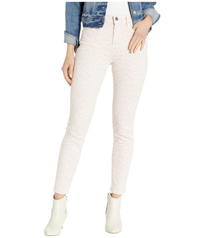 カレント エリオット レディース デニムパンツ ボトムス The High-Waist Stiletto Jeans in Leopard Rose Leopard Rose
