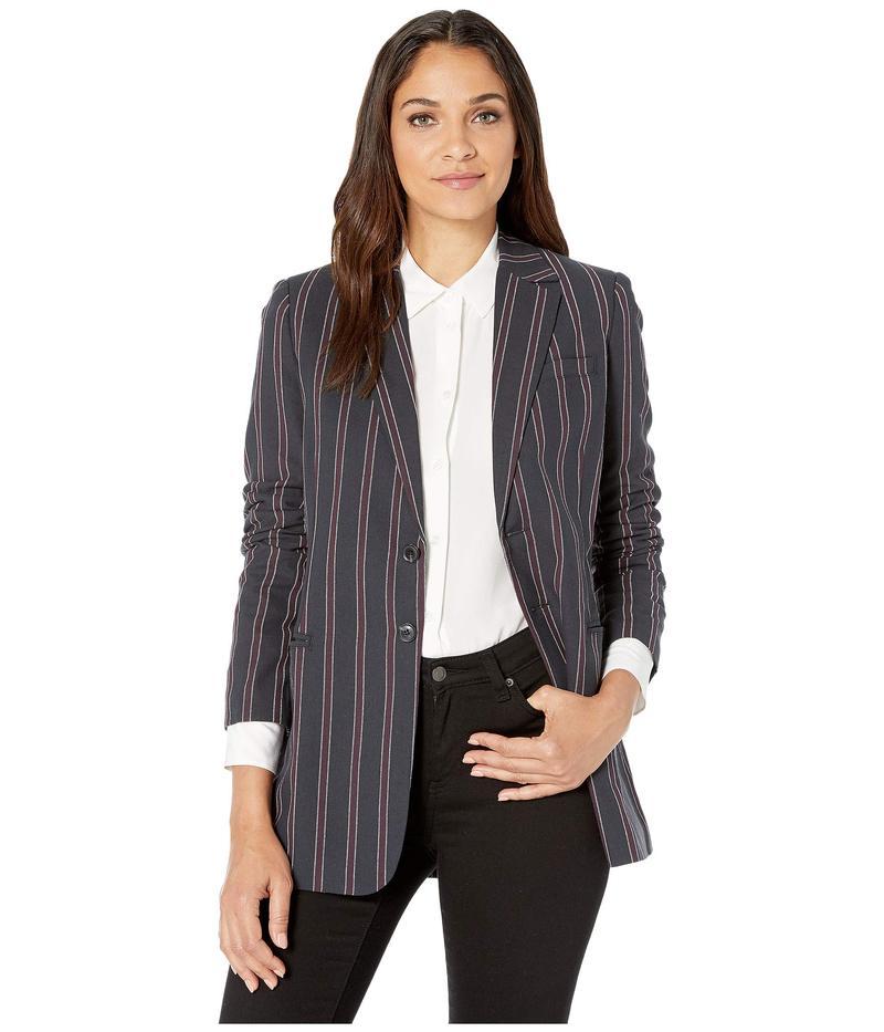 カレント エリオット レディース コート アウター The Calla Blazer Suiting Stripe