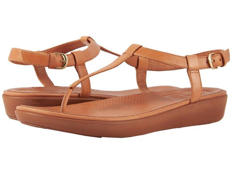 フィットフロップ レディース サンダル シューズ Tia Toe Thong Sandals Caramel