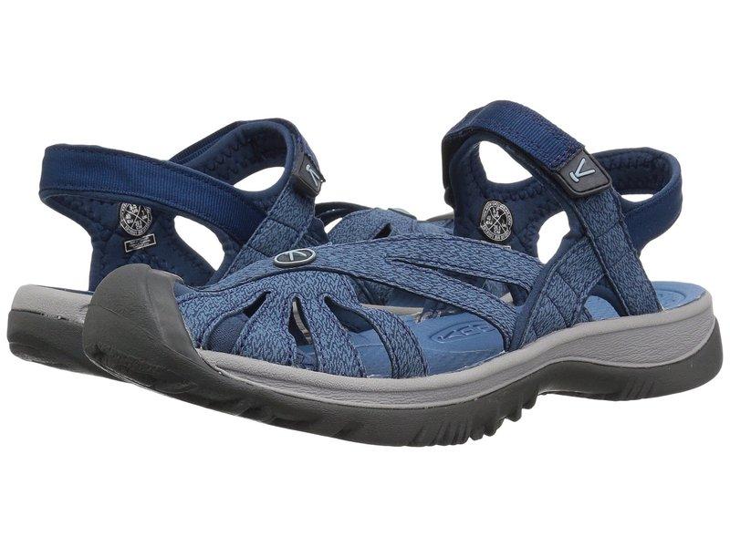 キーン レディース サンダル シューズ Rose Sandal Blue Opal/Provincial Blue