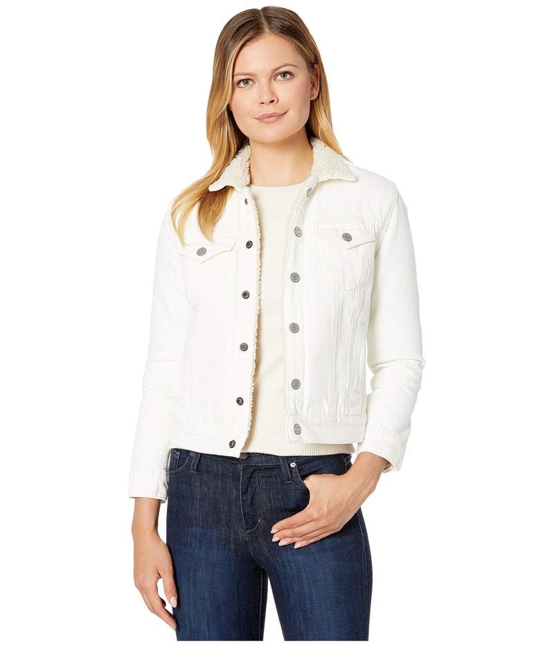 ラッキーブランド レディース コート アウター Tomboy Sherpa Jacket Clean White