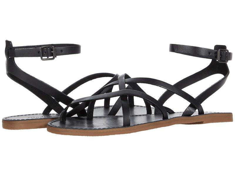メイドウェル レディース サンダル シューズ Boardwalk Skinny Strap Sandal True Black
