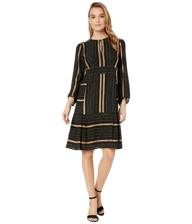 ナネットレポー レディース ワンピース トップス Boho Stripe Dress Gold Multi