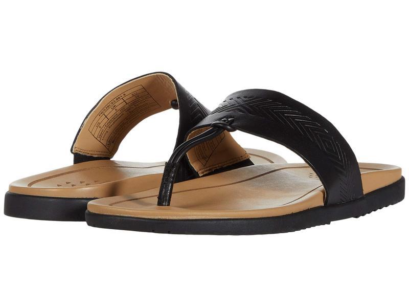 ペンドルトン レディース サンダル シューズ Madeira Beach Black Leather