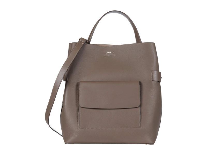 レイス レディース ハンドバッグ バッグ Freya Bucket Bag Mid Grey