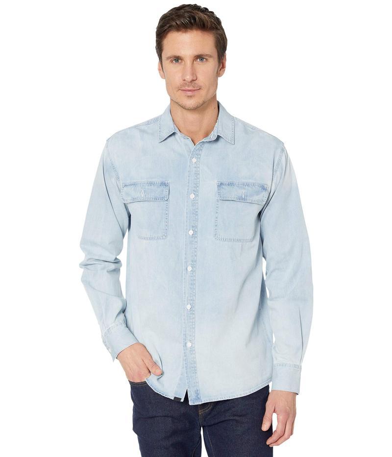 ゼインローブ メンズ シャツ トップス Denim Long Sleeve Shirt Original Blue