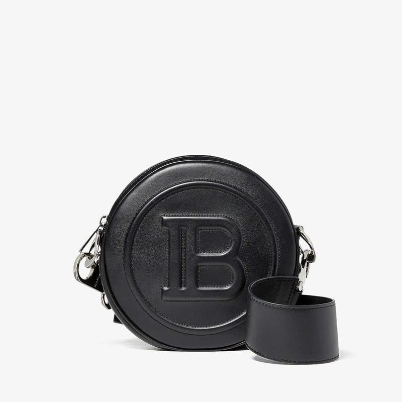 バルマン レディース ハンドバッグ バッグ Mini Disco Bag Black