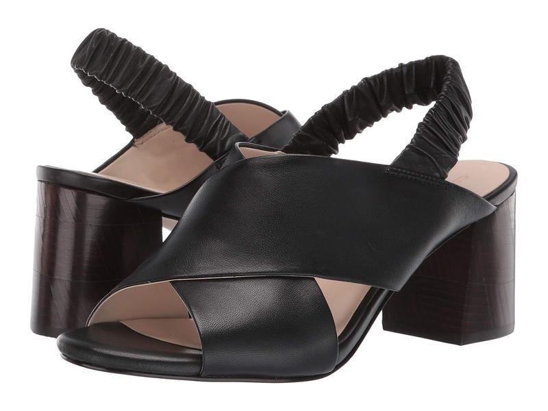 2021公式店舗 コールハーン 65 Sandal レディース ヒール シューズ 65 Black mm Anastasia City Sandal Black Leather, コドモズドア:41d14b6c --- coursedive.com