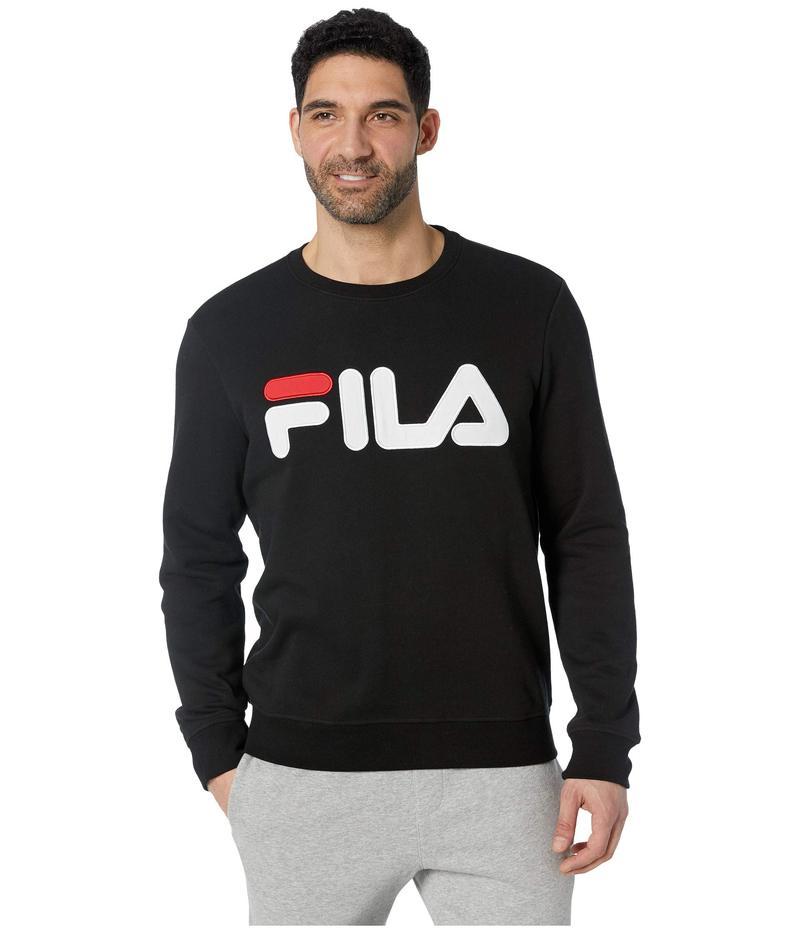 フィラ メンズ パーカー・スウェット アウター Regola Sweatshirt Black/White/Chinese Red