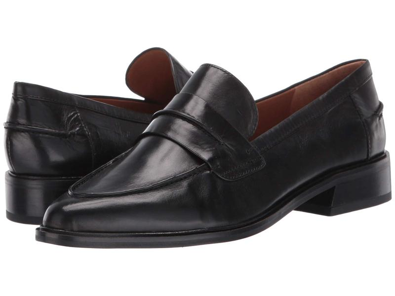 フランコサルト レディース スリッポン・ローファー シューズ Irena by SARTO Black Leather