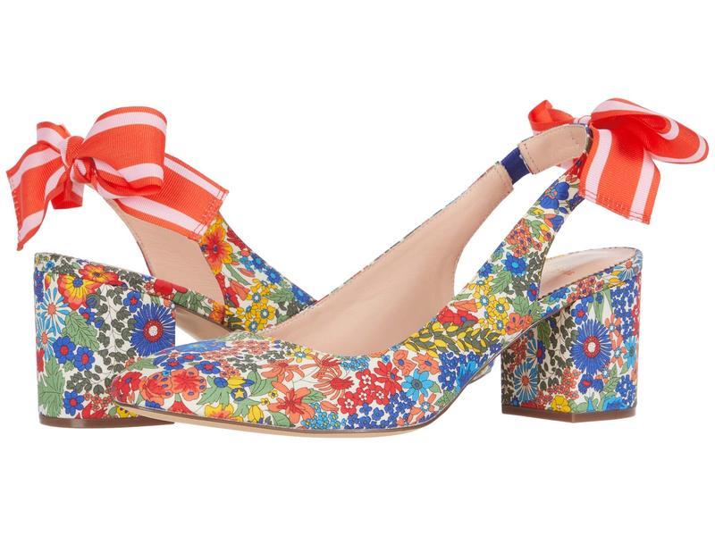 ジェイクルー レディース ヒール シューズ Liberty with Tie Slingback Sonia Pump Floral Multi