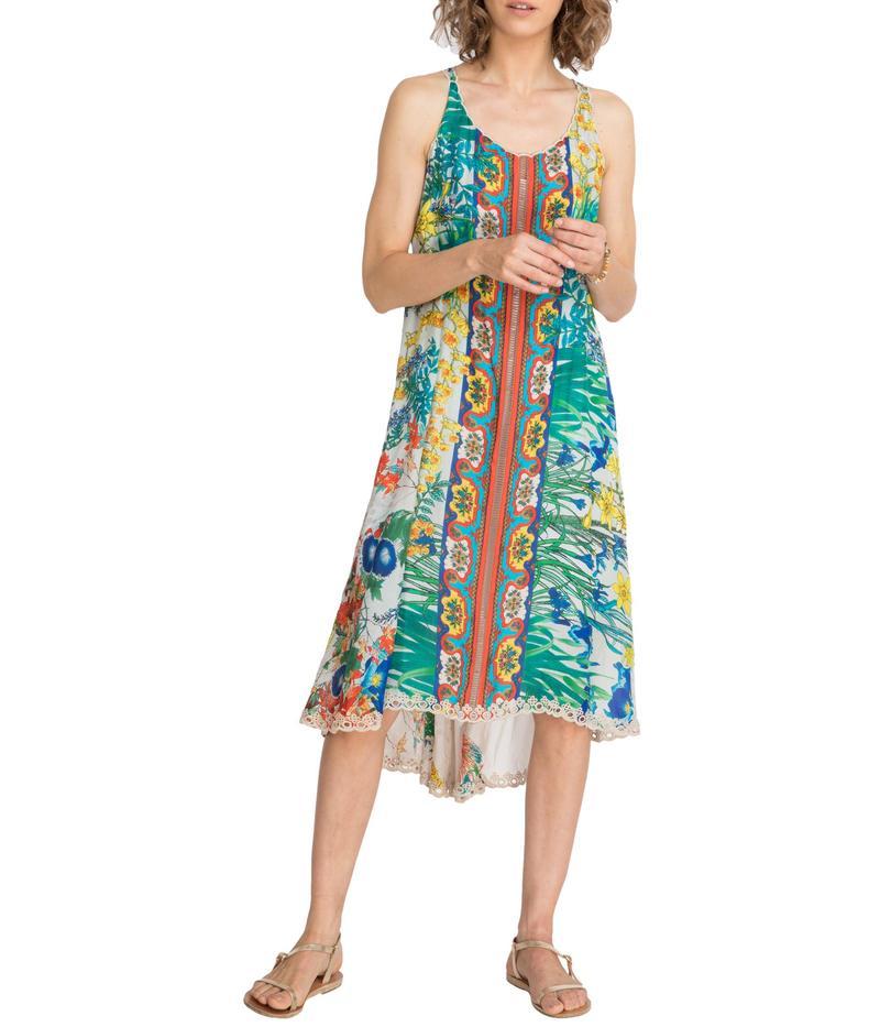 ジョニーワズ レディース ワンピース トップス Avalon Dress w/ Slip Multi 2