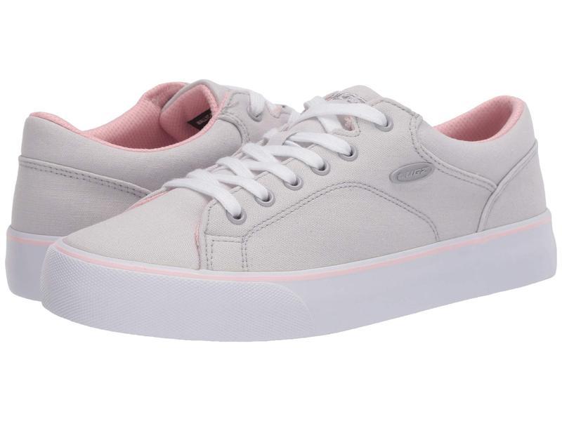 ラグズ レディース スニーカー シューズ Ally Light Grey/Powder Pink/White