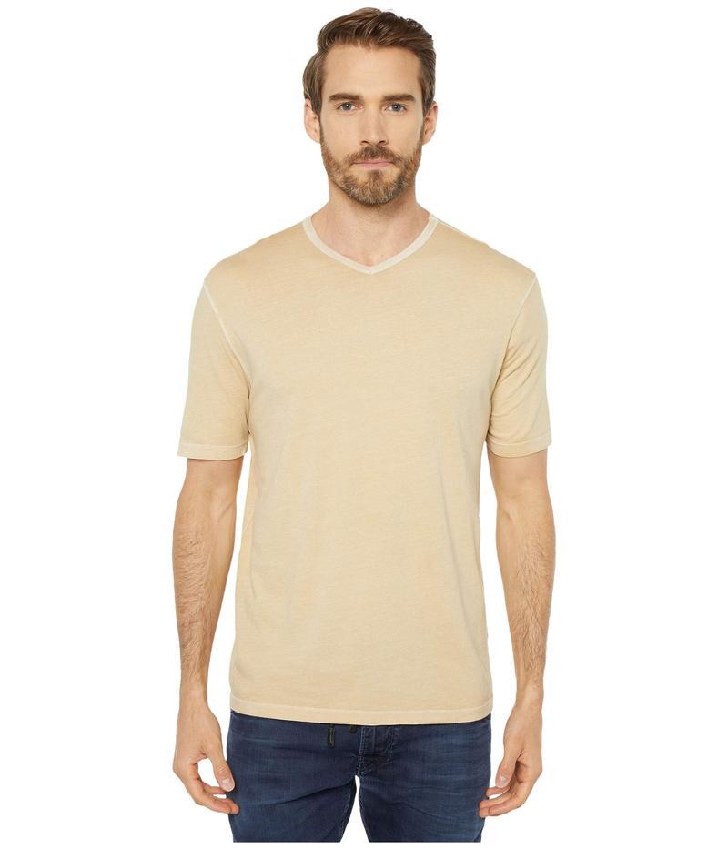 モッドドック メンズ シャツ トップス San Diego Short Sleeve V-Neck Mango