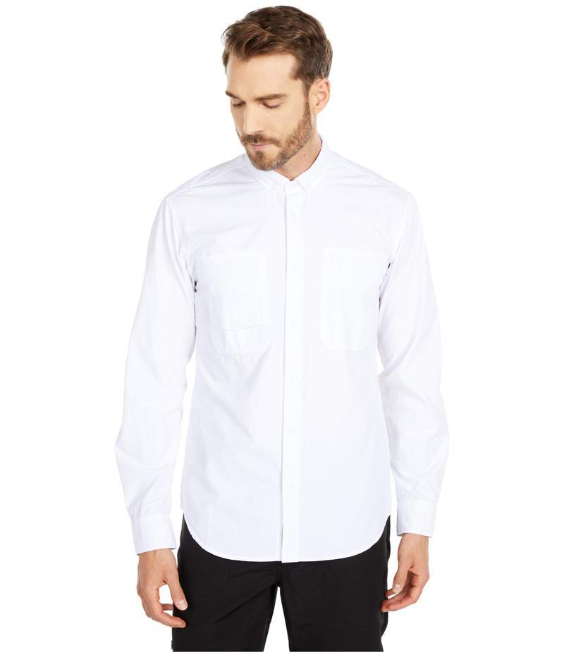 パブリッシュ メンズ シャツ トップス Nail Long Sleeve Button-Up White