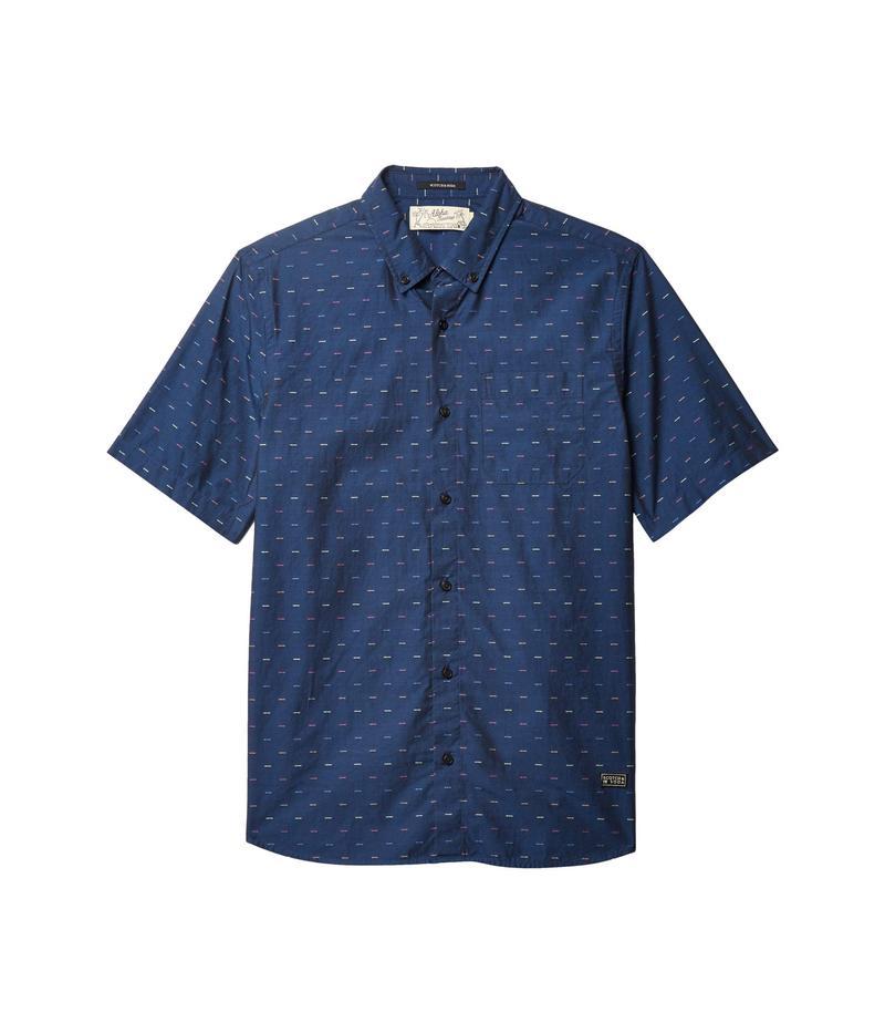 スコッチアンドソーダ メンズ シャツ トップス Regular Fit - Short Sleeve Fil-Coupe Shirt Combo D