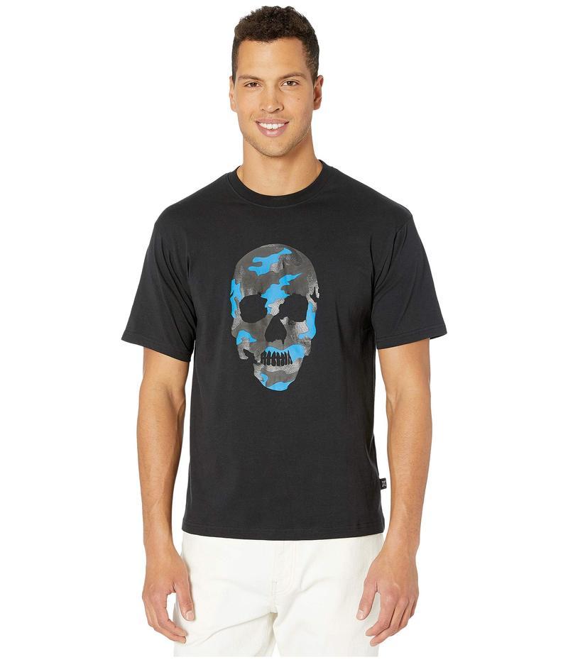 ザ・クープルス メンズ シャツ トップス Camo Skull T-Shirt Black/Fluo Blue