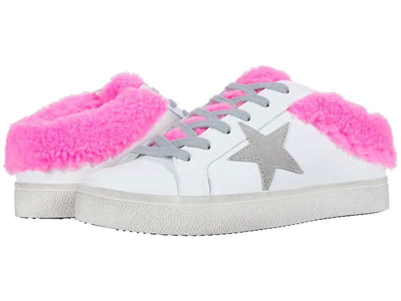 スティーブ マデン レディース スニーカー シューズ Polaris Sneaker Mule White/Pink