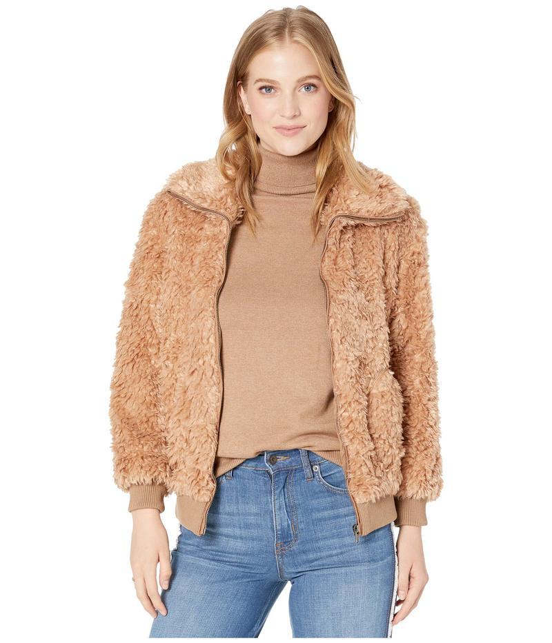 ビービーダコタ レディース コート アウター Teddy Or Not Fleece Jacket Camel