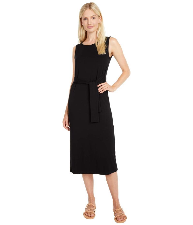 ビービーダコタ レディース ワンピース トップス Chic To Chic Rayon Spandex Tie Front Midi Dress Black