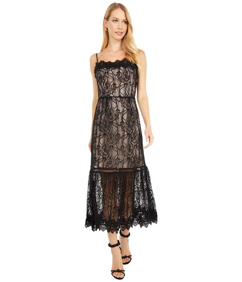 ビービーダコタ レディース ワンピース トップス Lace To Face Lace Midi Dress Black