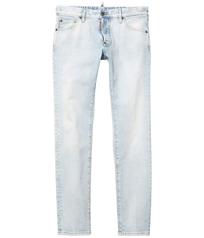 ディースクエアード メンズ デニムパンツ ボトムス Sugar Wash Cool Guy Jeans in Blue Blue