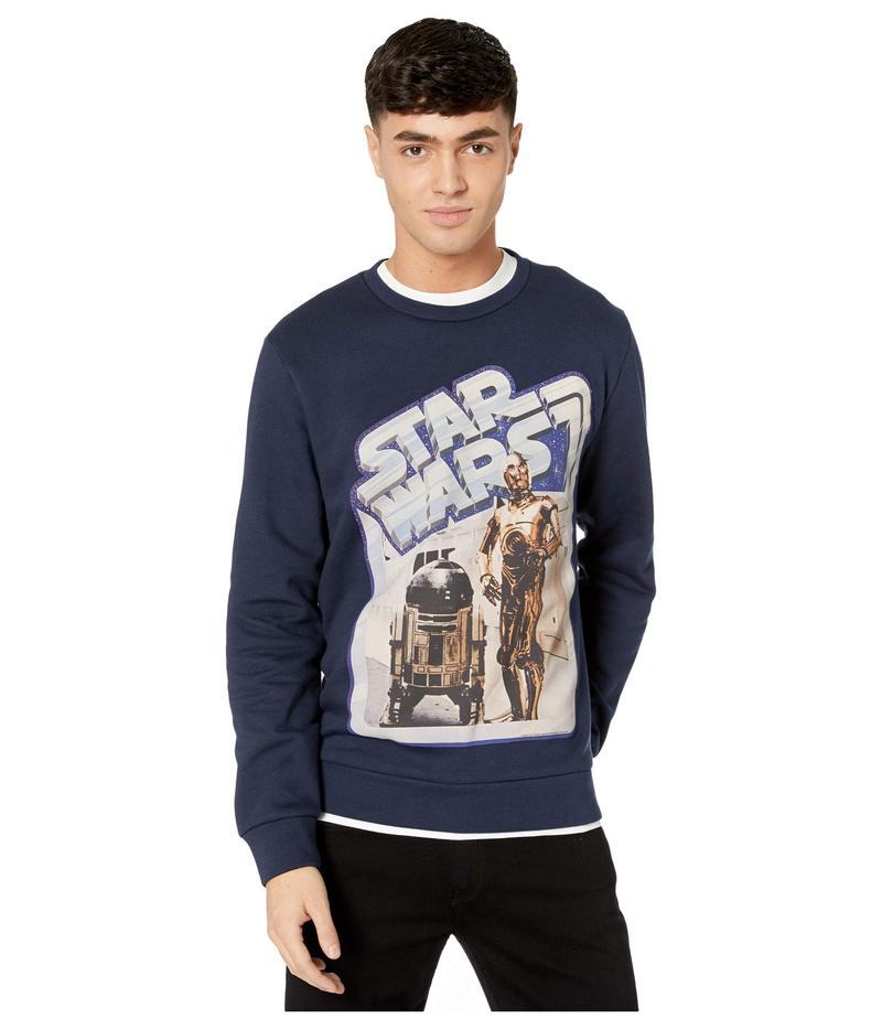 エトロ メンズ パーカー・スウェット アウター Star Wars Sweatshirt Navy