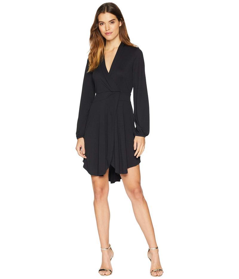 ケンジー レディース ワンピース トップス Modal Jersey Wrap Dress KSNU7083 Black