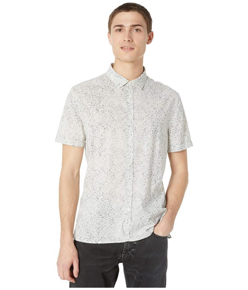 ジョンバルベイトス メンズ シャツ トップス Slim Fit Short Sleeve Sport Shirt W516W1 Silver/Grey
