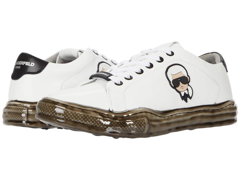 カール ラガーフェルド メンズ スニーカー シューズ LF0S8519 White