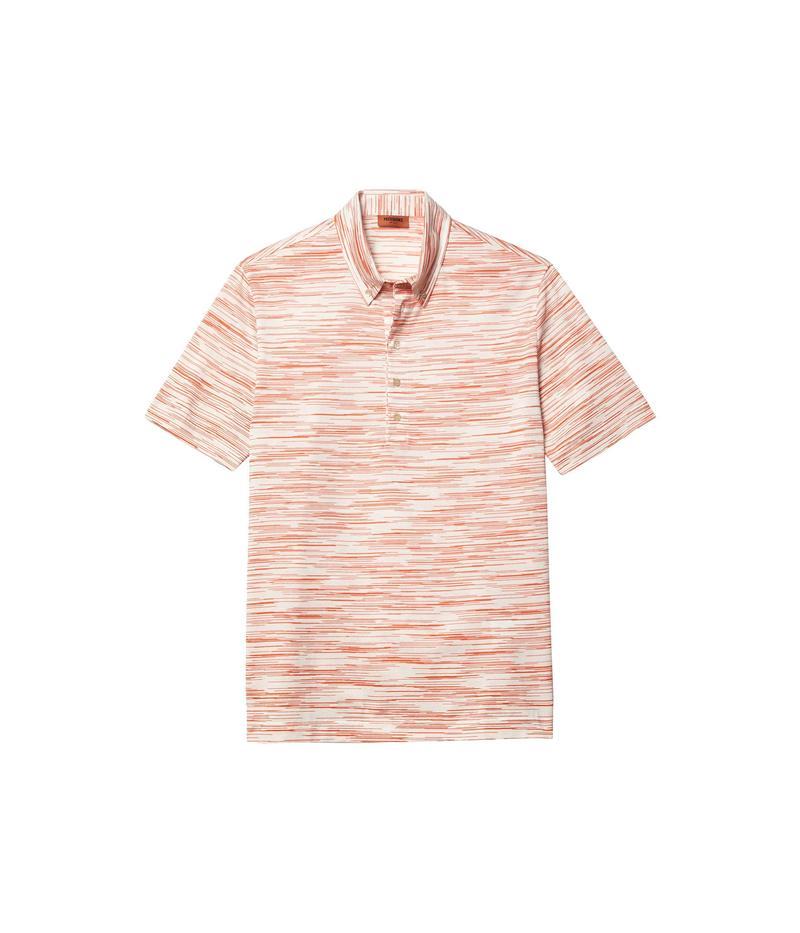 Over トップス Orange All Jersey メンズ ミッソーニ シャツ Polo Fiammato