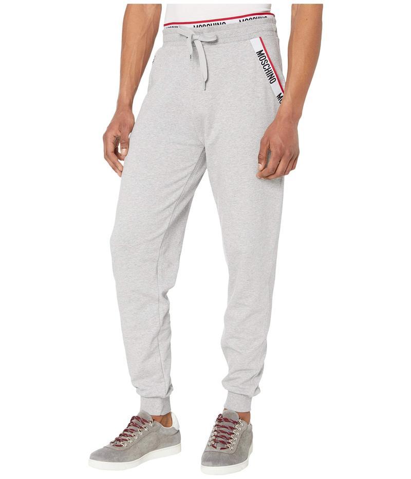 モスキーノ メンズ カジュアルパンツ ボトムス Basic Fleece Sweatpants Grey Melange