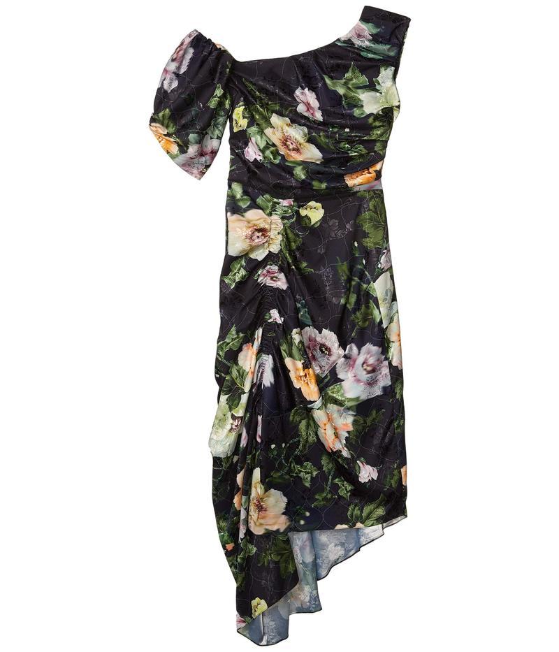 Flower Dress ソーントン ブルガッジ プリーン Black ワンピース トップス Willabelle Lotus レディース