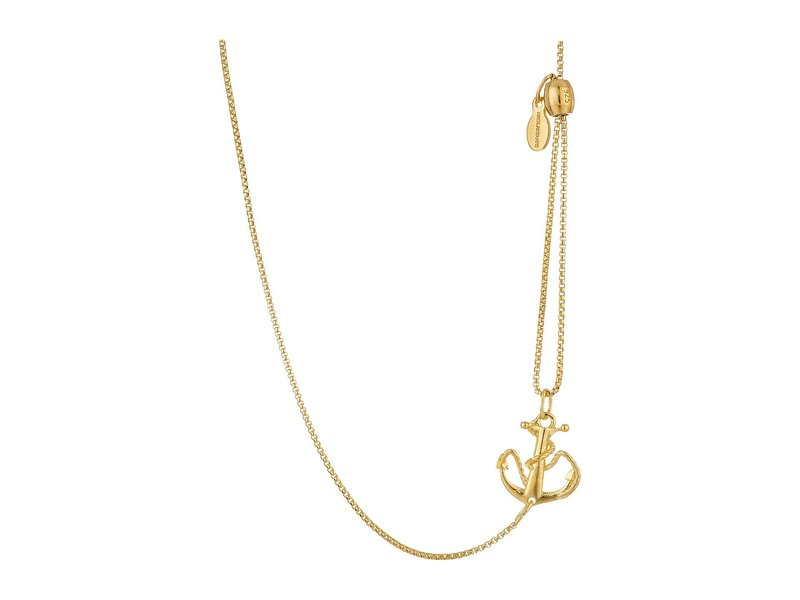 アレックスアンドアニ レディース ネックレス・チョーカー・ペンダントトップ アクセサリー Pull Chain Necklace Anchor Gold