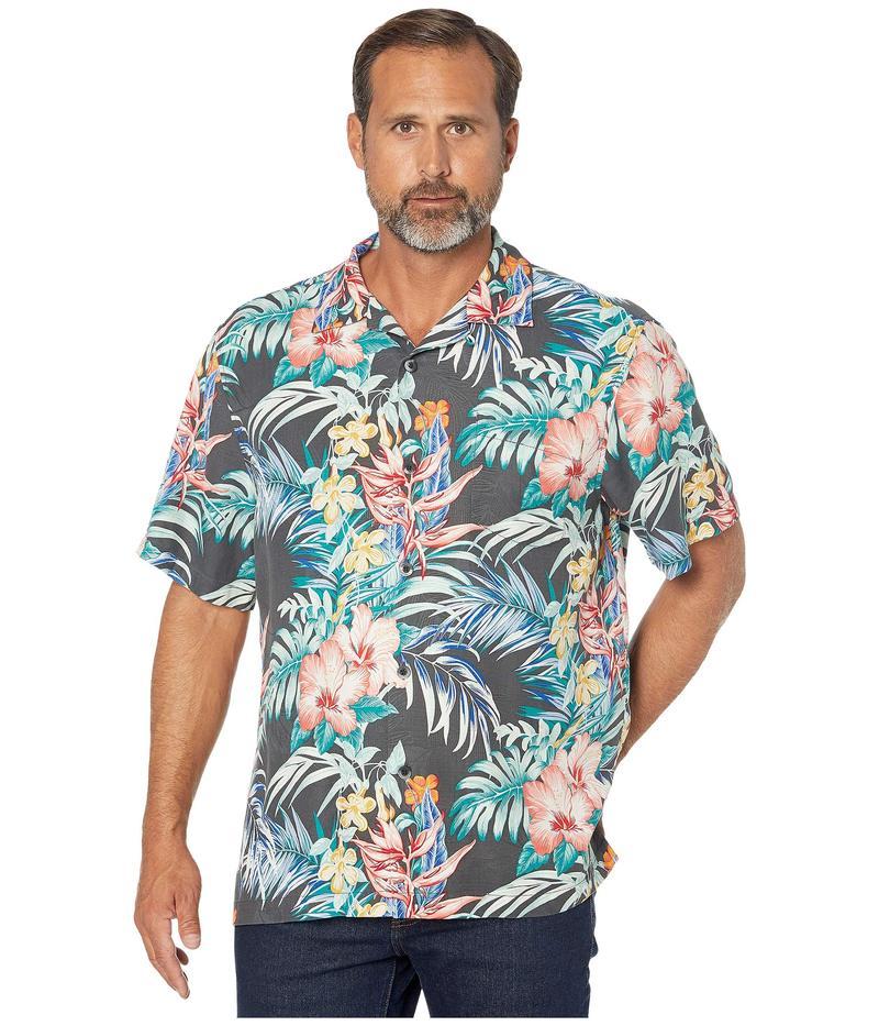 トッミーバハマ メンズ シャツ トップス Garden Paradise Camp Shirt Onyx