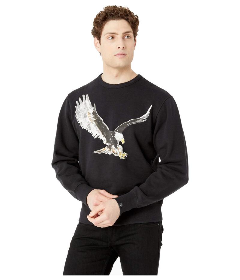 ラグアンドボーン メンズ パーカー・スウェット アウター Eagle Sweatshirt Black
