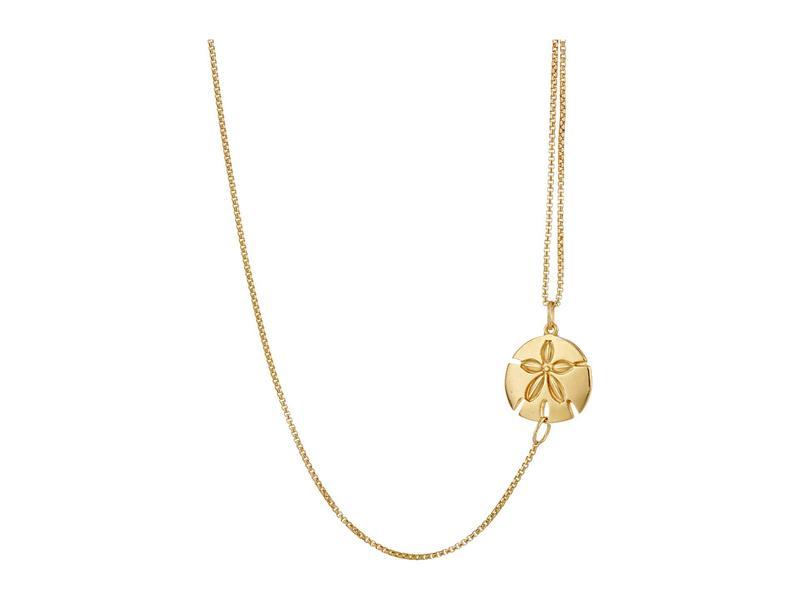 アレックスアンドアニ レディース ネックレス・チョーカー・ペンダントトップ アクセサリー Pull Chain Necklace Sand Dollar Gold
