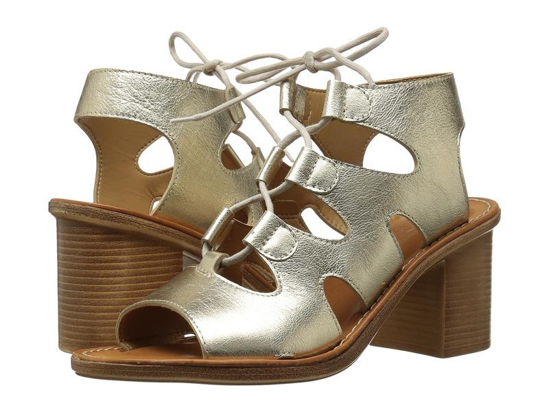 ベラビタ レディース サンダル シューズ Bre-Italy Gold Leather